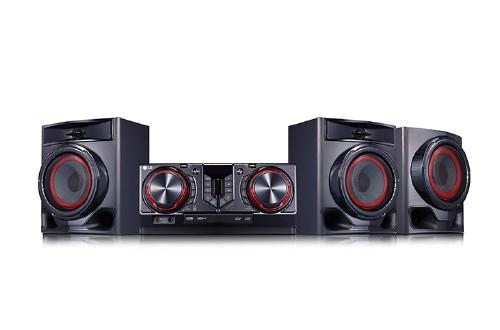 MINI SISTEMA DE SOM HI-FI LG (720W CD+MP3+CD-R+FM USB BLUETOOTH)