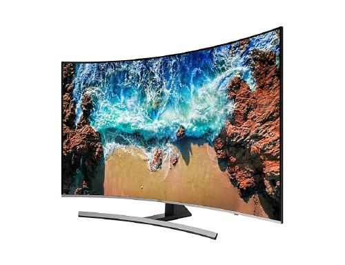 "TV SAMSUNG(55"" LED 4K ULTRA HD SMART CURVA)"