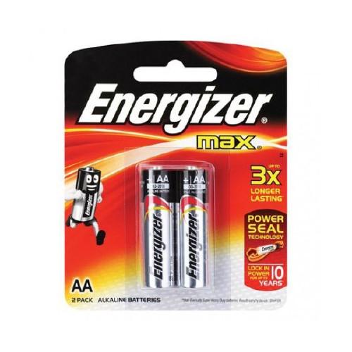 PILHAS ENERGIZER POWER AA 2UN E91BP2