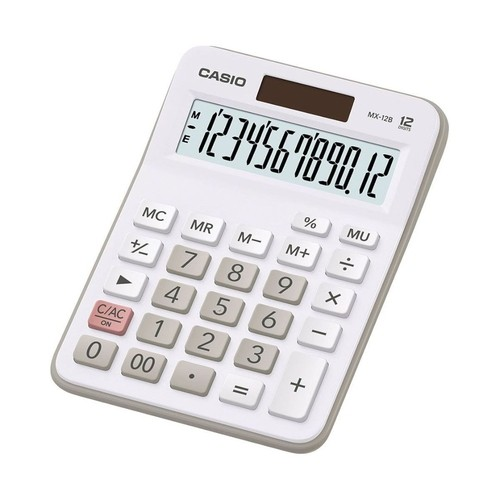 CALCULADORA SERIES BRANCA CASIO