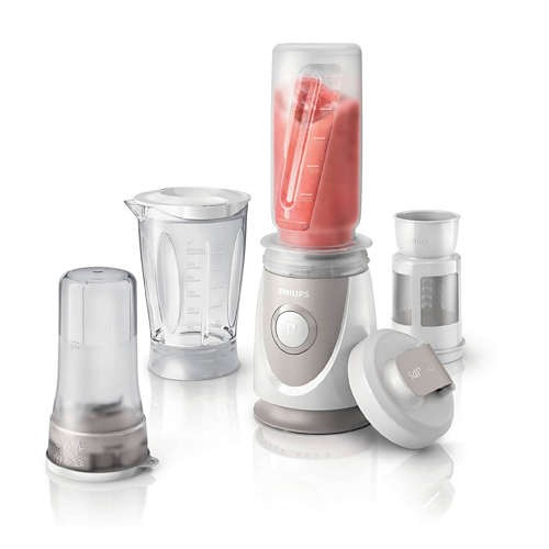 LIQUIDIFICADOR MINI+EXTRAS PHILIPS HR287400 (350W 0.6LT)