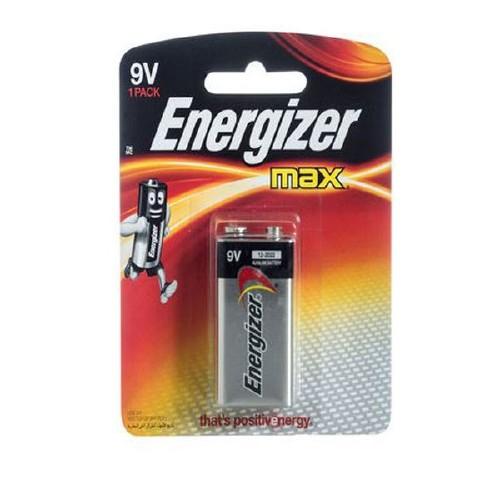 PILHA ENERGIZER MAX  522BP1 9V
