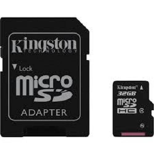 CARTÃO DE MEMÓRIA MICRO SD KINGSTON(32GB)