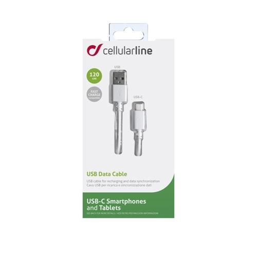 CABO USB-C 1.20 CM CELLULARLINE
